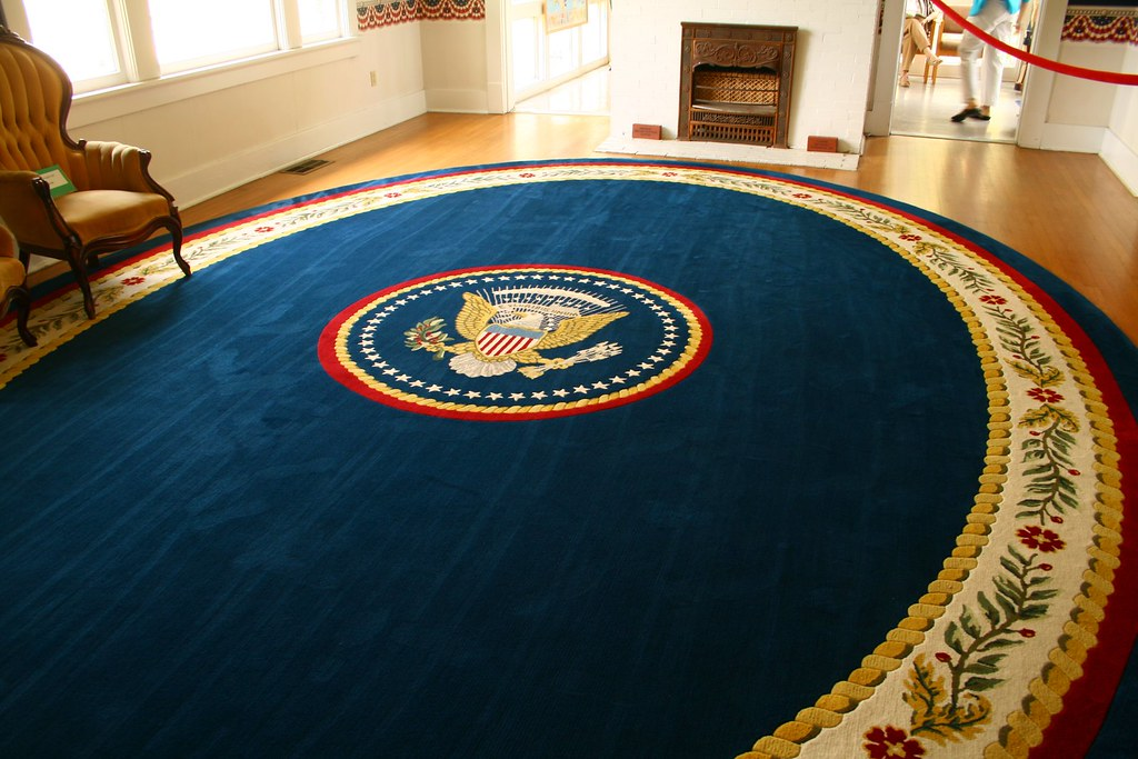 Oval Office Rug Michael Hodge Flickr