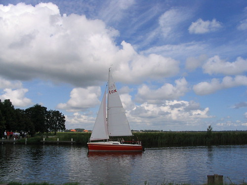Sailboat, Frisian canal | by jeffdevries