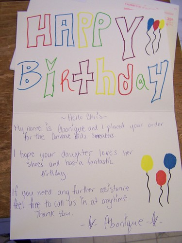 Birthday card | by notes from the trenches