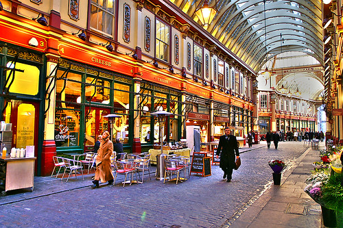 Leadenhall Market London Artizen Hdr Lock06 N The