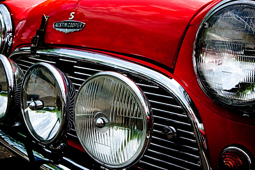 Austin Cooper | Close up of an Mini this is the Austin ...