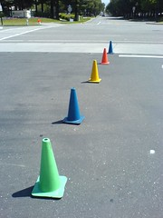 Google Traffic Cones | by clotilde