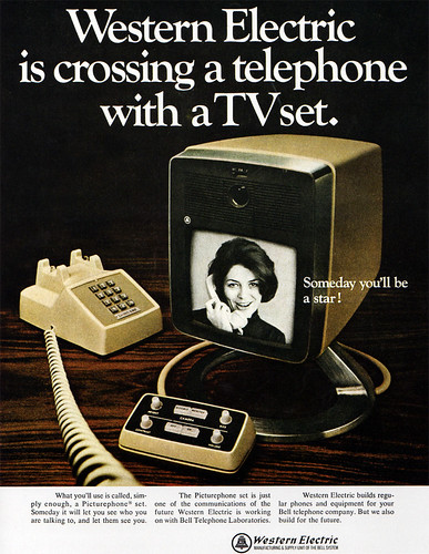1960s Advertising - Magazine Ad - Western Electric (USA) | by ChowKaiDeng