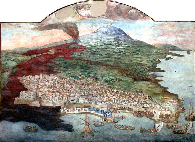 Mount Etna Eruption In 1669