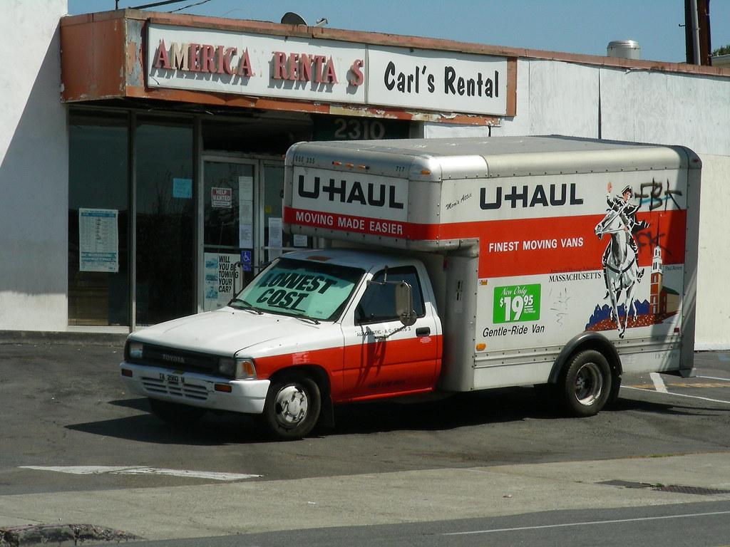 how to start a uhaul truck