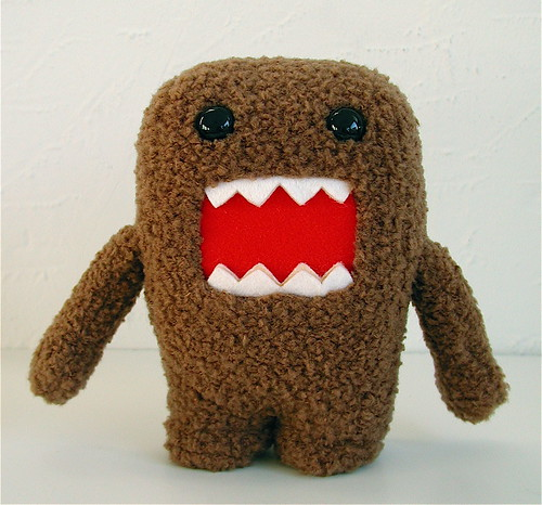domo-kun plush | by j_pidgeon