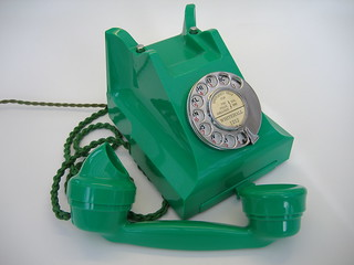Very rare Green 332 Bakelite Telephone | by Old BT Telephones