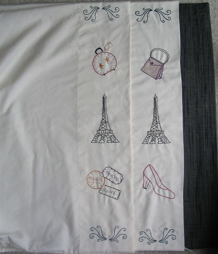 Eiffel tower pillowcases | by katxn