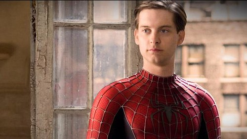 Peter Parker | I think that Peter is so cute! :) | Poofy ... Tobey Maguire