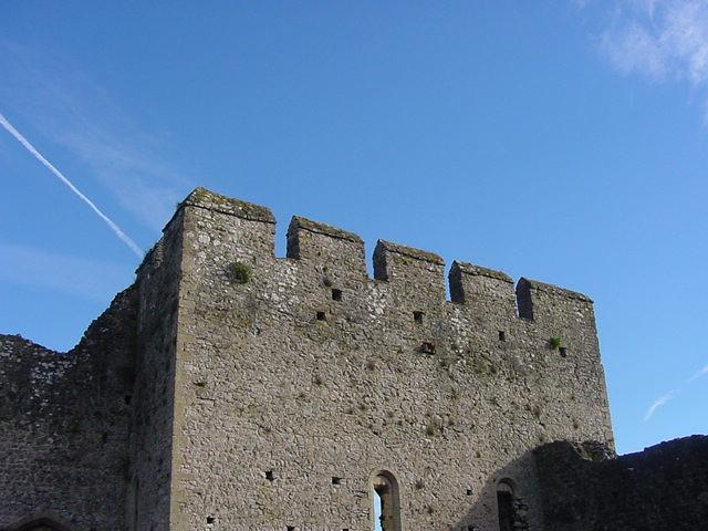 Chepstow Castle Crenellations Edtechfreak Flickr