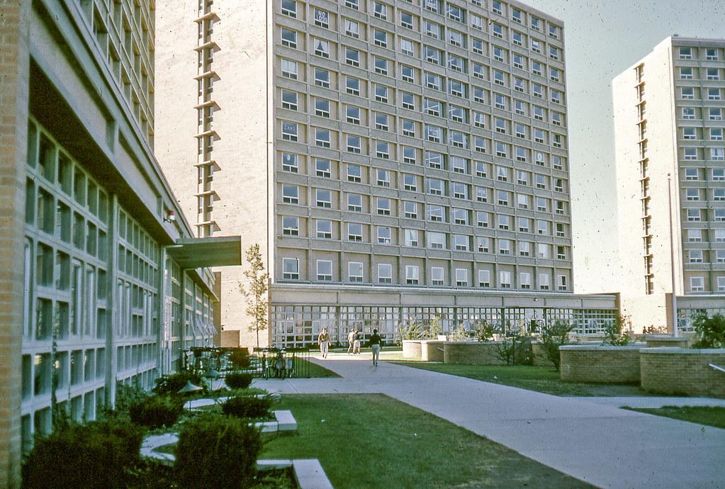Boston University West Campus Dorms Mine Was On The Left