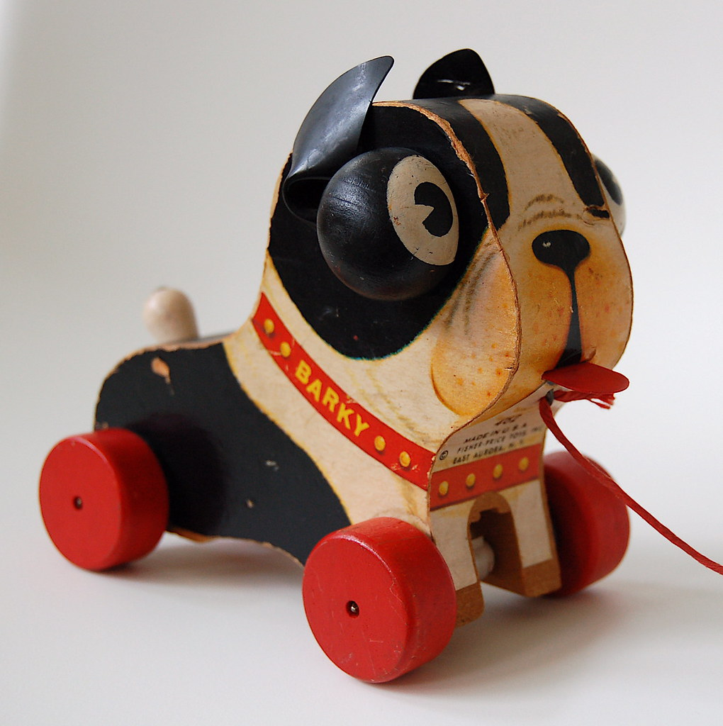 Vintage Toys From The 60s : Fisher price barky here s another great old