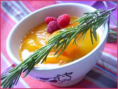 Apricot sauce with rosemary | by Mitsooko