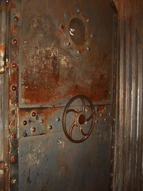 Ste&unk door | by PennyPlastic Ste&unk door | by PennyPlastic & Steampunk door | Entrance to The Riddler. So sexy with gear \u2026 | Flickr