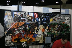 LEGO Star Wars Mural | by The Official Star Wars