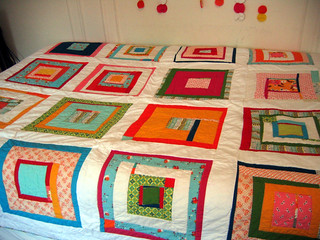 quilt top: done! | by lindamade