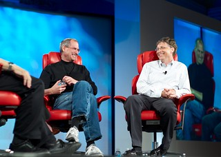 Steve Jobs and Bill Gates | by Joi