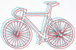 Embroidered Bicycle | by ! ramblinworker