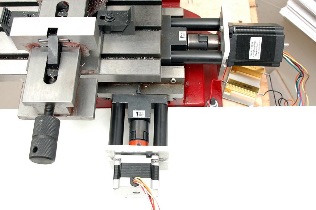 converting a manual milling machine to cnc