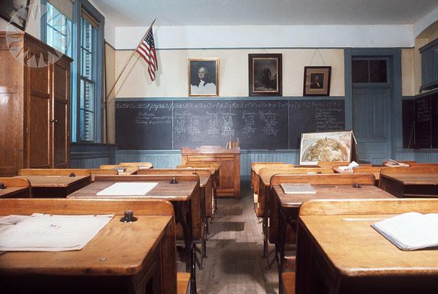 One Room School House In  Goshen Ctone Room School House In Albany Ny