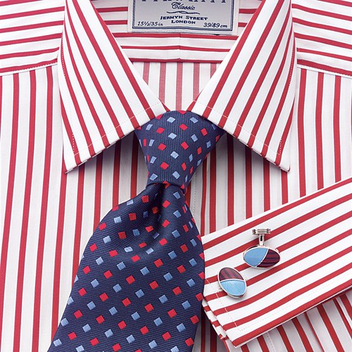 charles tyrwhitt kirwood red satin stripe classic men 39 s fo