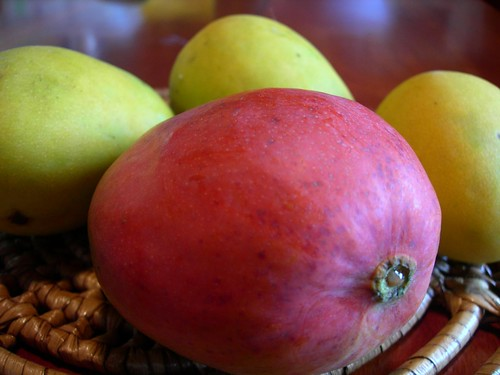 trini mangoes | by Chennette
