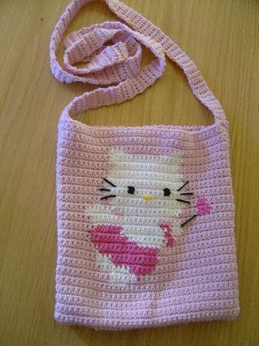 Crochet Hello Kitty Angel Handbag Oslo Fia Flickr