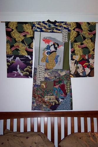 Kimono Wall Hanging A Fiber Collage Made Into A Kimono