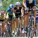 Women's peloton climbs