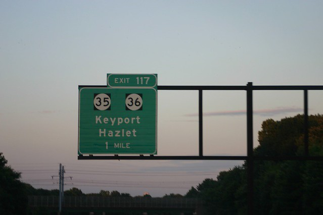 Exit 117 Garden State Parkway | Exit 117 brings you to Hazel… | Flickr