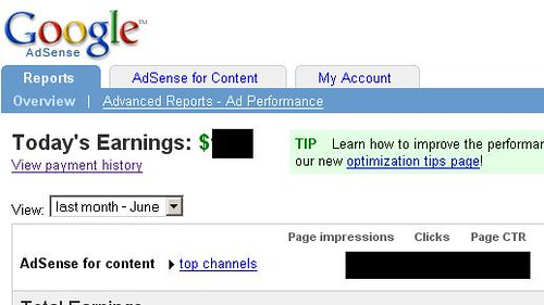 Adsense Interface | by Telendro