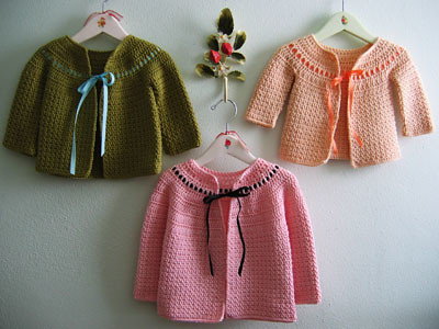 Quick Crochet Baby Sweater Pattern Pakbit For
