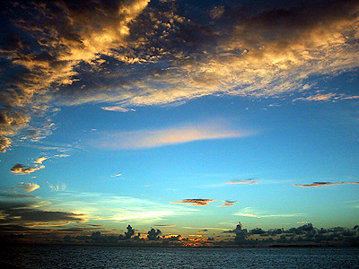 Sky paintings | The sunsets in Majuro are beautiful sky ...