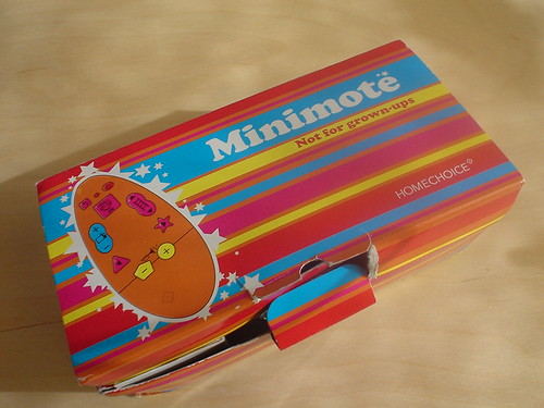 minimote box | by eyedropper.co.uk