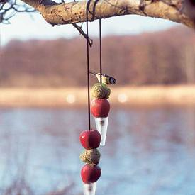 cone bird feeder wdybt dot com | by designsponge