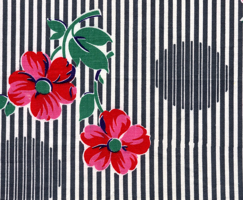Flowers, Stripes, and Dots | by kmel