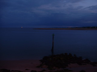 Almost dark over the exe estuary | by Hayleyisfree