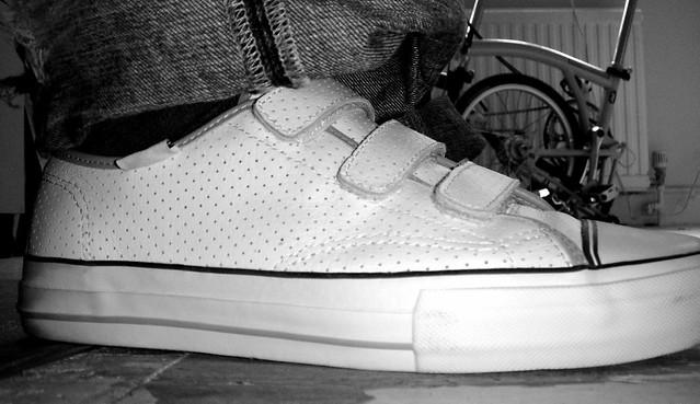 Vans Prison Issue Skate Shoe White