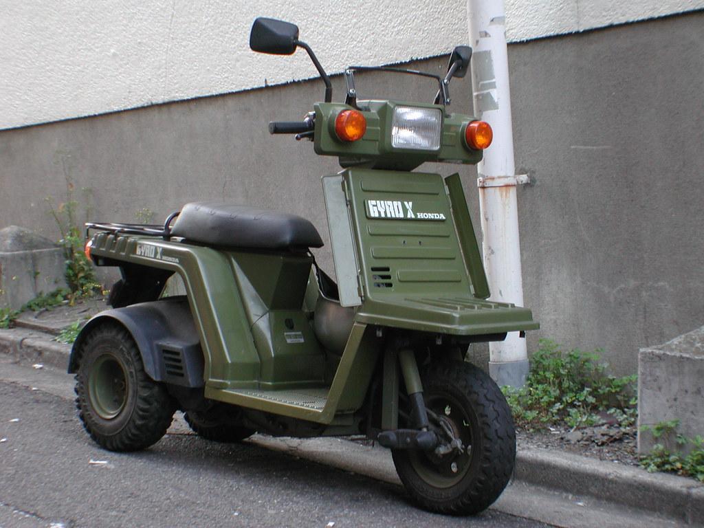 Dope Scooter 02 - Honda Gyro X | I want one SO bad. | num ...