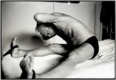 "Joseph Pilates doing ""Pilates"" 