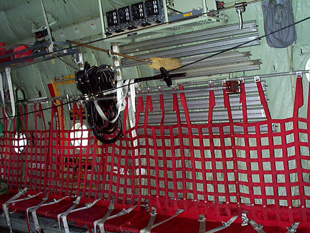 C 130 Hercules Seating