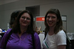 OSCON 2005: Danese Cooper and Sheila Mooney | by Ted Leung