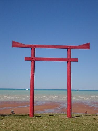 japanisches tor chris flickr. Black Bedroom Furniture Sets. Home Design Ideas