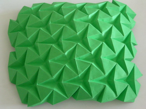 Triangular Waterbomb Tessellation