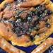 gluten-free, blueberry-polenta pancakes