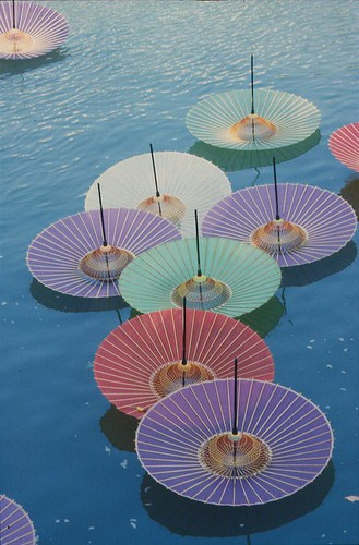 Hiroshima Umbrellas It Was The 60th Anniversary Of The