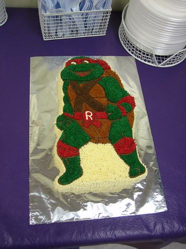 Ninja Turtle Birthday Cake Kit