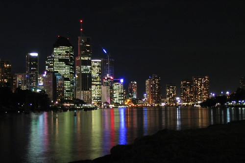 Brisbane CIty at Night | by Damien Ayers