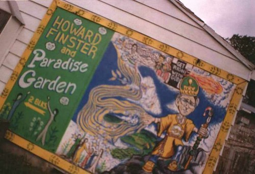 Welcome To Paradise Garden Home Of Howard Finster Flickr