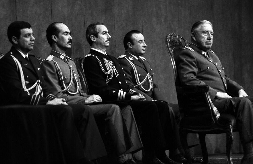 Pinochet being Nominated, Santiago, 1988 | by Marcelo  Montecino